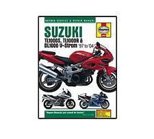 4083 Suzuki TL1000S TL1000R DL1000 V-Strom 97-04 Haynes Workshop Service Manual