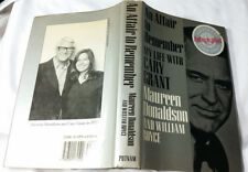An Affair to Remember : My Life with Cary Grant by Maureen Donaldson *Signed*
