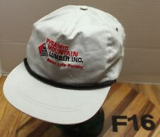 Gray Trucker hat Made in USA by K-Products Telmark Inc AgriLease   Snapback