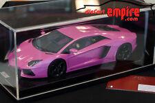 MR Collection 1/18 - Lamborghini Aventador LP700-4 Pink on Carbon base #01/25