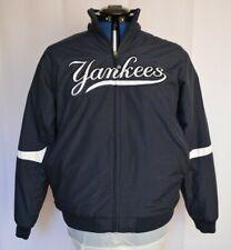 VTG Majestic MLB NEW YORK YANKEES YOUTH Size XL BLUE BOMBER JACKET Authentic