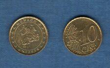 Monaco 2003 10 centimes d'euro SUP SPL Pièce neuve de rouleau - Monaco