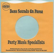 PAMA (BOSS SOUNDS) wavy top REPRODUCTION RECORD COMPANY SLEEVES  - (pack of 10)