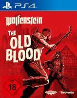 PS4 / Sony Playstation 4 Spiel - Wolfenstein: The Old Blood DEUTSCH mit OVP