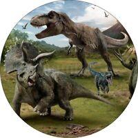 Jurassic Dinosaurier Tortenaufleger Party Deko Geburtstag Tortenbild Muffin Neu