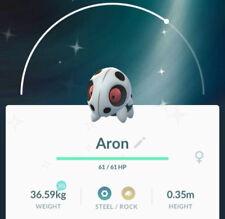 Pokemon Go Shiny Aron [TRADE OFFER] 100% safe