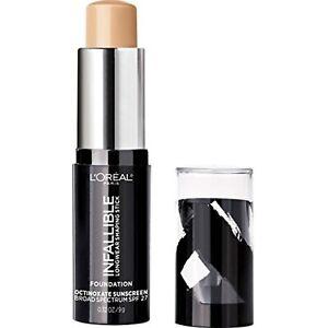 L'Oreal Paris Makeup Infallible Longwear Shaping Stick Foundation 403 Buff