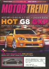 MOTOR TREND 2008 JUNE - GT-R, G8 GXP, 135i vs EVO MR, G35 S, 612 SCAGLIETTE