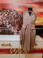 36 38 40  Ausgefallen Luxus HIGH USE Sommer Kleid Top Halter Gr