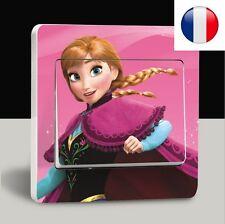 """jolie stickers """"la reine des neiges"""" pour interrupteur;"""