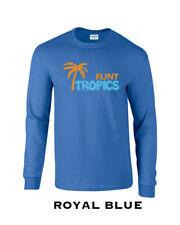 155 Flint Tropics Long Sleeve funny basketball jersey costume semi movie pro new