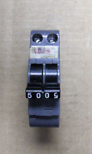 UBI NC NC250 2 Pole 50 Amp Circuit Breaker Snap In Grey