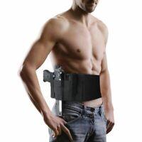 Tactical Padded Concealed Pistol Holster Handgun Pouch Shooting Gun Bag Case