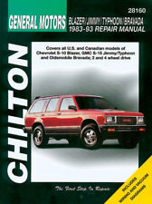 blazer repair manual ebay rh ebay ca 1994 chevy s10 blazer repair manual 1994 chevy s10 blazer repair manual pdf