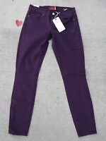 Lucky Brand Women's Size 00/24 Charlie Super Skinny Purple Jeans 7WD10004
