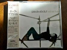 Head Over Heels ~ Paula Abdul (CD, 1995, Japan, +OBI +2 BONUS TRX) VG
