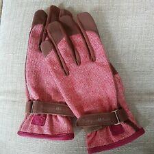 Burgon & Ball Love The Glove - Red Tweed-Ladies Medium/Large (7.5 - 8)