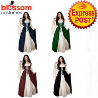 K880 Peasant Game Thrones Renaissance Medieval Victorian Wench Dress Up Costume