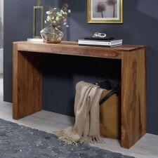 FineBuy Konsolentisch Massivholz Sheesham Schreibtisch 115 x 40 cm Landhaus neu