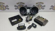 VW GOLF MK6 2.0 TDI CFFB MANUAL COMPLETE ECU KIT WITH KEY LOCK 03L907309R '09-13