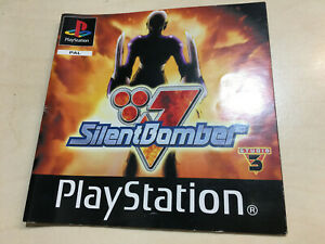 Silent Bomber Playstation 1 PS1 Manual only