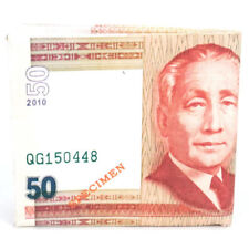 Philippine Currency Money 50 Pesos Design Canvas Travel Wallet