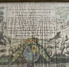 1600's John Ogilby Road Map London To Barnstable In Devonshire