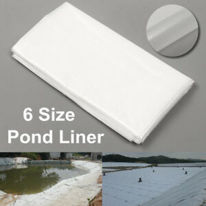 2m/6.5ft White Fish Pond Liner Garden Pool HDPE Membrane AU AH