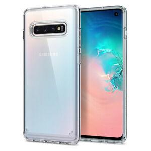 Galaxy S10, S10 Plus, S10e Spigen®[Ultra Hybrid] Clear Shockproof Case Cover