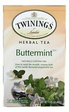 Twinings, Herbal Tea, Buttermint, Caffeine Free , 20 Individual Tea Bags, 40g