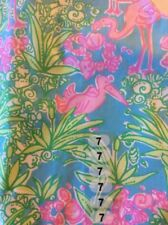 Lilly Pulitzer Little Lilly Shift Dress Snow Birds Pelican Flamingo New 7