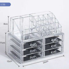 High Quality Cosmetic Storage Box with 6 Drawers - High-Grade Molded Acrylic