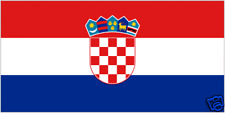 CROATIA 5ft x 3ft Flag  with brass eyelets- SALE!!!