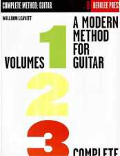 A Modern Method for Guitar Complete Vol 1, 2 and 3 Berklee Press