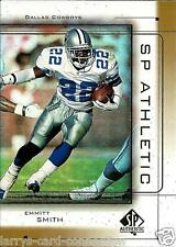 "Emmitt Smith 1999 99 SP Authentic ""Athletic"" Inset Card #A9 Dallas Cowboys"
