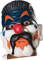 Chuckles Chinless 1//2 Vinyl Evil Clown Mask