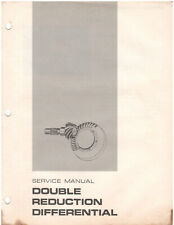 Cat Towmotor Double Reduction Differential Service Manual Rec00720 D1345