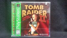 Tomb Raider II (Sony Playstation 1,1997) BRAND NEW SEALED - FAST DELIVERY