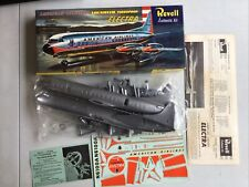 Vintage 1957 Revell Authentic Kit American Airlines Lockheed Turboprop Electra