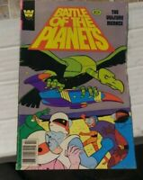 battle of the planets # 3 1982 whitman comics  japanese sci fi g force
