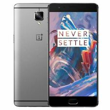 Oneplus 3 A3000 64GB Graphite 4G LTE GSM Unlocked Dual SIM Android *%