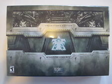 Starcraft II Wings of Liberty & Heart of the Swarm Collector's Editions Sealed
