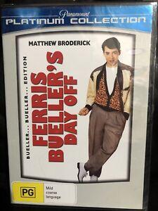 Ferris Bueller's Day Off DVD Brand New & Sealed Aus Region 4 -Matthew Broderick