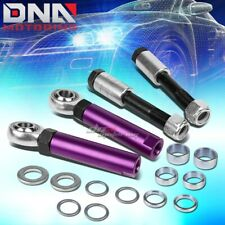 FOR 94-04 FORD MUSTANG SN-95 ALUMINUM ADJUSTABLE BALL JOINT BUMPSTEER KIT PURPLE