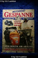 Motorrad Gespanne Nr.38 2/97 Suzuki 1200 Bandit Abenteuer Aralsee