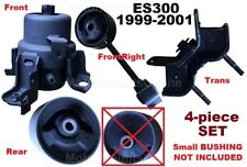 9R1228 4pc Motor Mounts Rear BIGInsert fit 1999 - 2001 Lexus ES300 w/NO VARIABLE