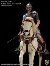 ACI Toys 1/6 White War Horse for General Gladiator H04
