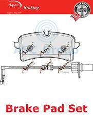 Apec Hintere Bremsbeläge Satz OE Qualität Ersatzteil mit Blinker PAD1963