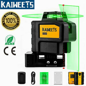 KAIWEETS Self Leveling Laser Level Construction Laser Level & 2 Red Plumb Spots