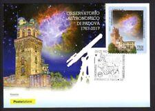 Italy 2017: Observatory Padova-Postcard Official Poste Italiane